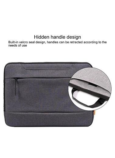 "Mcstorey MacBook Pro Air Retina Laptop Bag Handbag 15"" - 15.4"" Çanta Koruma Omuz Askısız Gri"